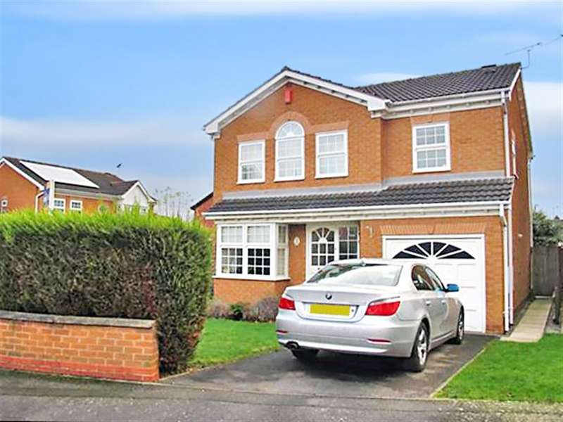 4 Bedrooms Detached House for rent in Kindlewood Drive, Chilwell, Nottingham, NG9 6NE