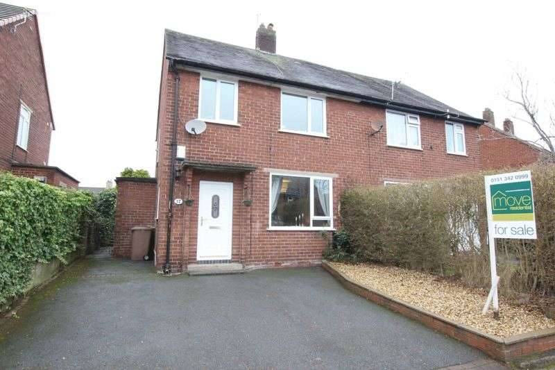 3 Bedrooms Semi Detached House for sale in Hesketh Drive, Heswall, Wirral
