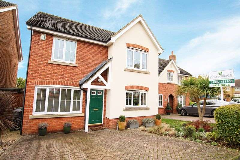 4 Bedrooms Detached House for sale in Watercress Road, West Cheshunt