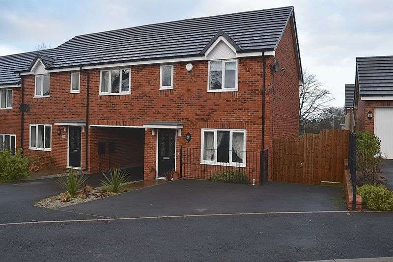 3 Bedrooms House for sale in Wolstanholme Close, Congleton