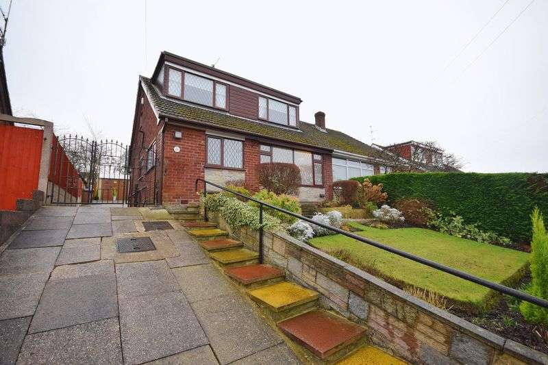 2 Bedrooms Detached Bungalow for sale in Thirlmere Grove, Longton