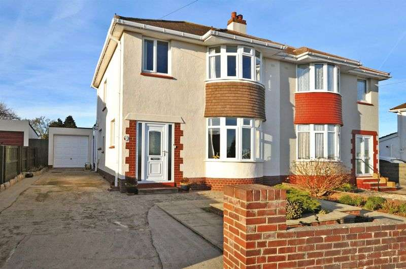3 Bedrooms Semi Detached House for sale in Sandringham Drive, Preston, Paignton