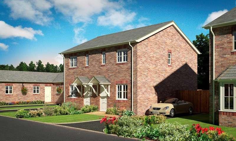 2 Bedrooms Semi Detached House for sale in Oakwood Grange, Weston Road, Morda