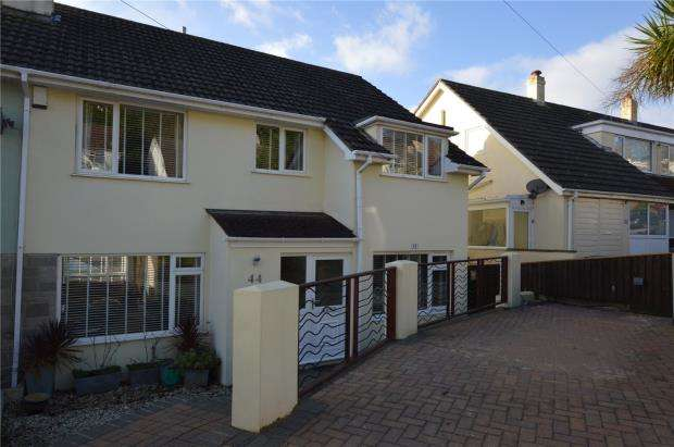 4 Bedrooms Semi Detached House for sale in Padacre Road, Watcombe Park, Torquay, Devon