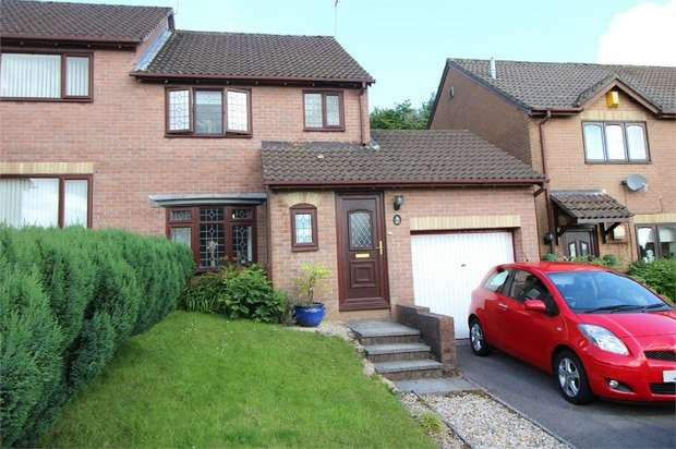 3 Bedrooms Semi Detached House for sale in Heather Court, Ty Canol, Cwmbran