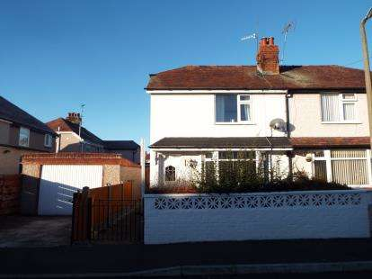 2 Bedrooms Semi Detached House for sale in Penrhos Avenue, Llandudno Junction, Conwy, LL31