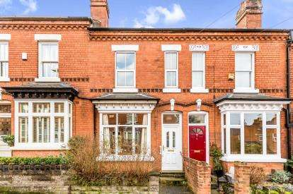2 Bedrooms Terraced House for sale in Farquhar Road, Moseley, Birmingham, West Midlands
