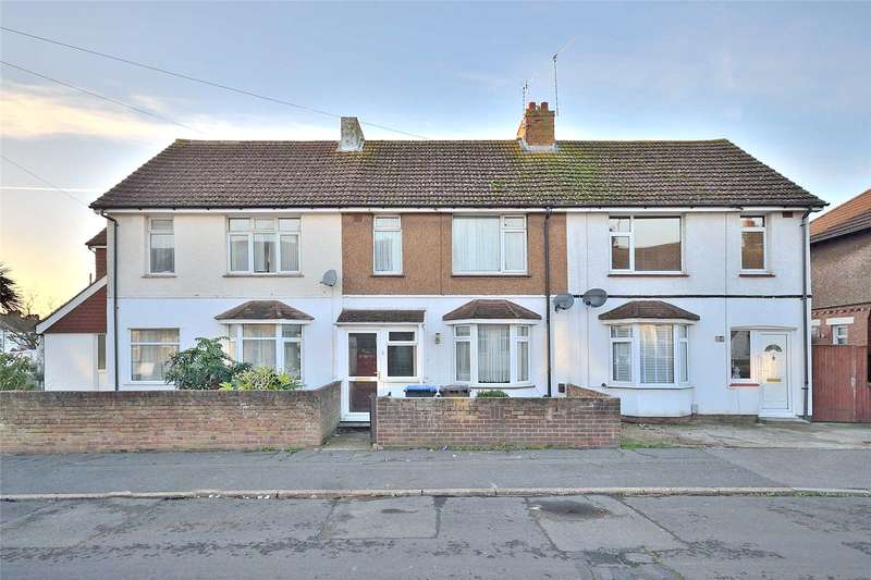 3 Bedrooms Terraced House for sale in Myrtle Road, Lancing, West Sussex, BN15