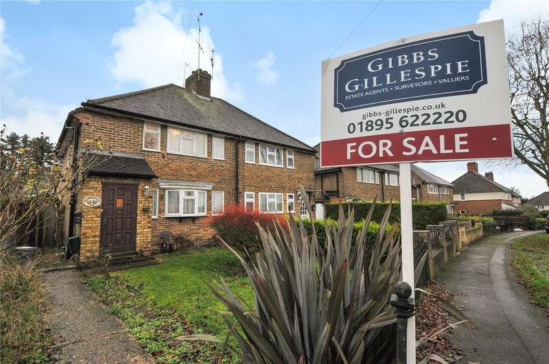 3 Bedrooms Semi Detached House for sale in St. Annes Road, Harefield, Uxbridge, Middlesex, UB9