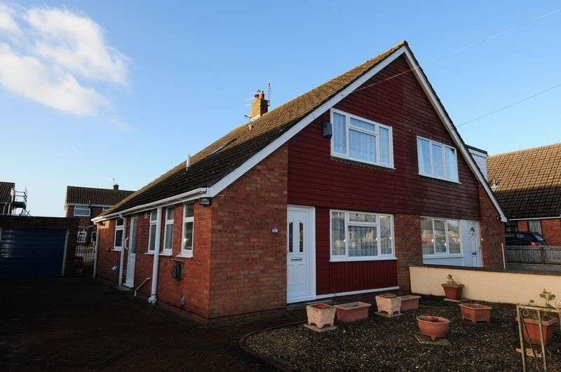 3 Bedrooms Semi Detached House for sale in Townsend Road, Stockwood, Bristol, BS14