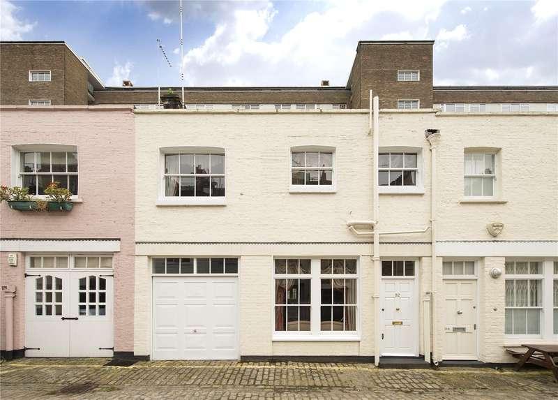 3 Bedrooms Mews House for sale in Bathurst Mews, Paddington, London, W2