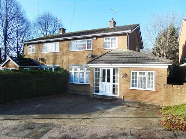 3 Bedrooms Semi Detached House for sale in Greenbank Road, Watford