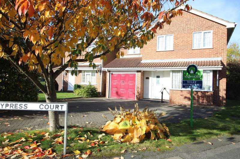 4 Bedrooms Detached House for rent in Cypress Court, Hucknall, Nottingham, NG15