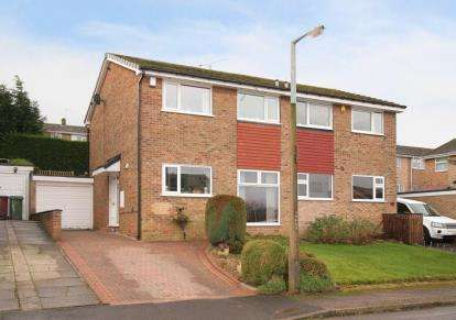 3 Bedrooms Semi Detached House for sale in Rubens Close, Dronfield, Derbyshire