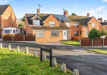 4 Bedrooms Semi Detached House for sale in Sebright Green, Wolverley, Worcestershire