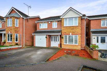 4 Bedrooms Detached House for sale in Quarry Dale View, Mansfield, Nottinghamshire