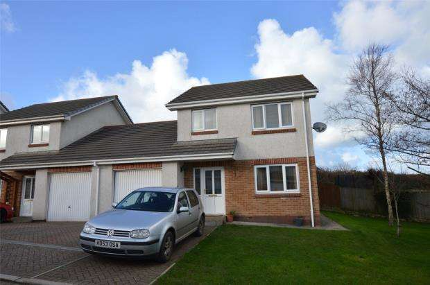 3 Bedrooms Link Detached House for sale in Marriotts Avenue, Camborne, Cornwall
