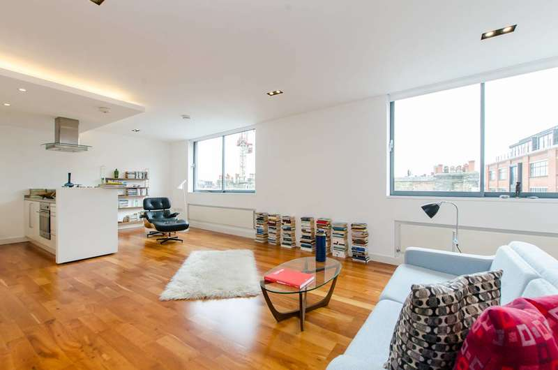 1 Bedroom Flat for sale in Clere Street, Shoreditch, EC2A