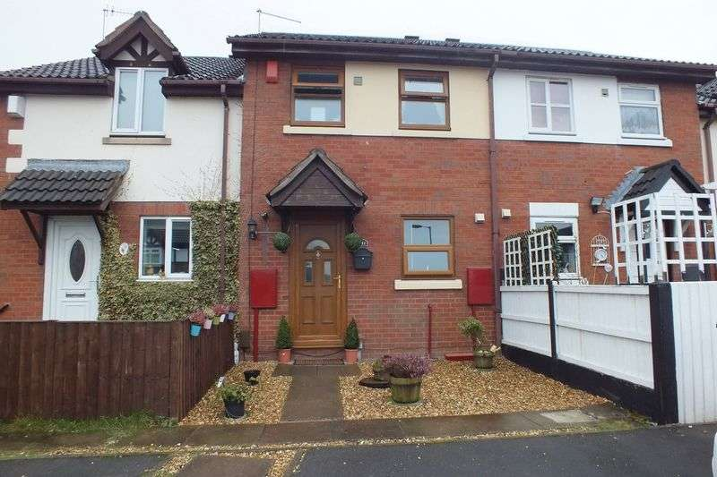 2 Bedrooms House for sale in Stringer Court, Tunstall, Stoke on Trent