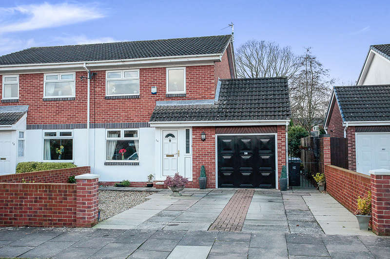 3 Bedrooms Semi Detached House for sale in Swinburn Drive, Carlisle, CA3