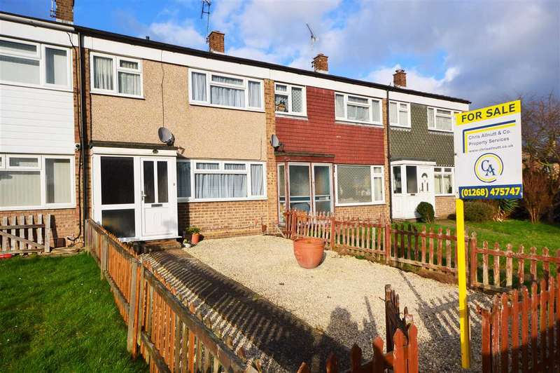 3 Bedrooms Terraced House for sale in Goodmayes Walk, Wickford