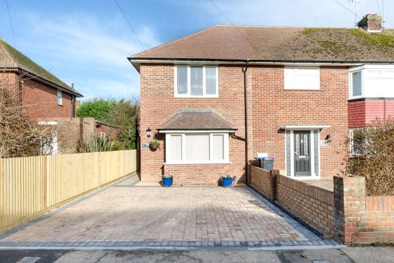 2 Bedrooms End Of Terrace House for sale in Grover Avenue, Lancing, West Sussex, BN15
