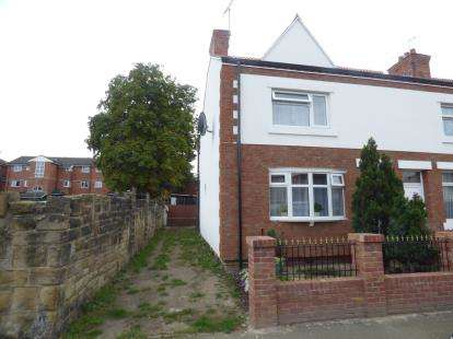 3 Bedrooms End Of Terrace House for sale in St. Johns Road, Wrexham, Wrecsam, LL13