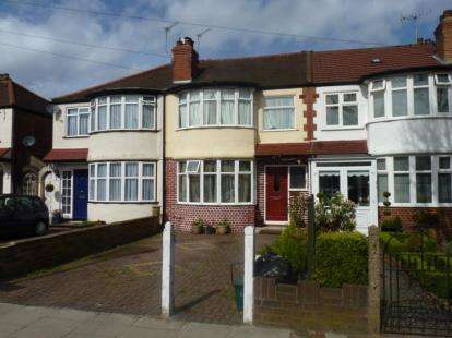 3 Bedrooms Terraced House for sale in Tees Avenue, Perivale, Greenford