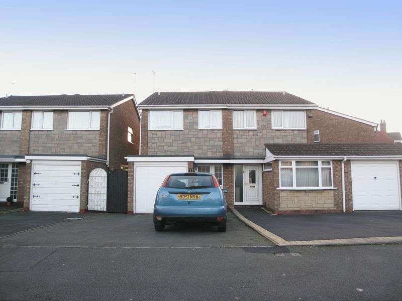3 Bedrooms Semi Detached House for sale in DUDLEY, Netherton, Mousesweet Close