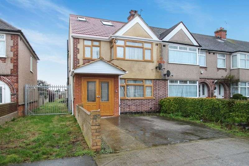 4 Bedrooms Semi Detached House for sale in Cheddar Waye, Hayes