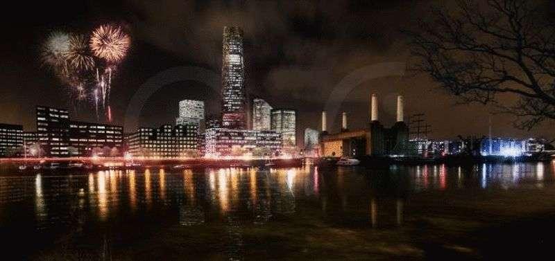 2 Bedrooms Flat for sale in Aykon London One, Nine Elms, London SW8 36th Floor
