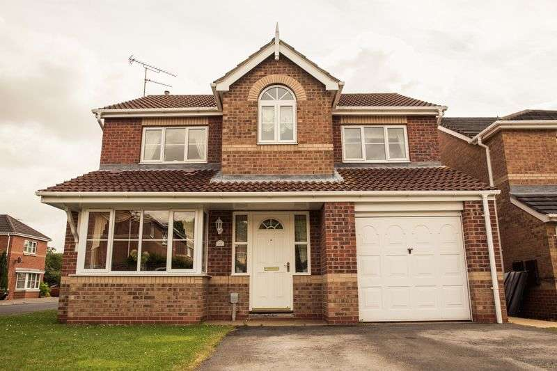4 Bedrooms Detached House for sale in Beverley Drive, Beverley