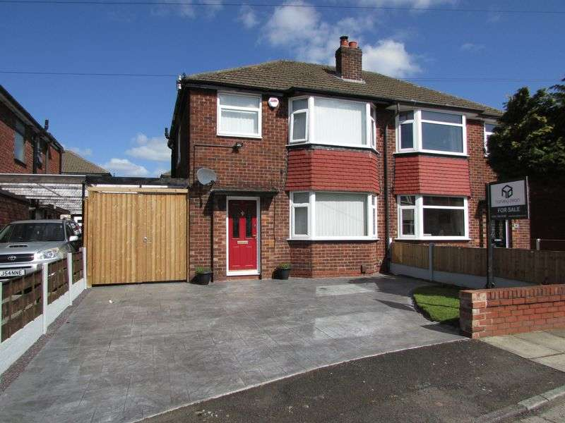 3 Bedrooms Semi Detached House for sale in Blackford Avenue, Bury - Quiet Location
