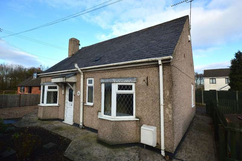 3 Bedrooms Detached Bungalow for sale in Chesterfield Road, Temple Normanton, Chesterfield, S42