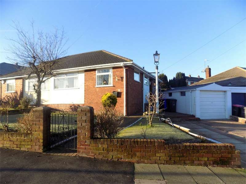2 Bedrooms Semi Detached Bungalow for sale in Lawefield Crescent, Swinton, Manchester
