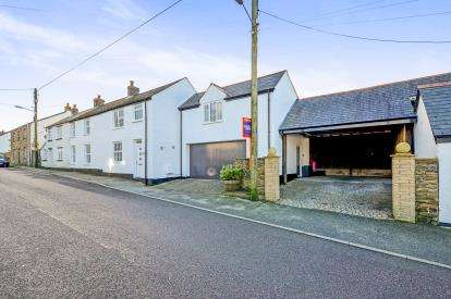 4 Bedrooms Semi Detached House for sale in Probus, Truro, Cornwall