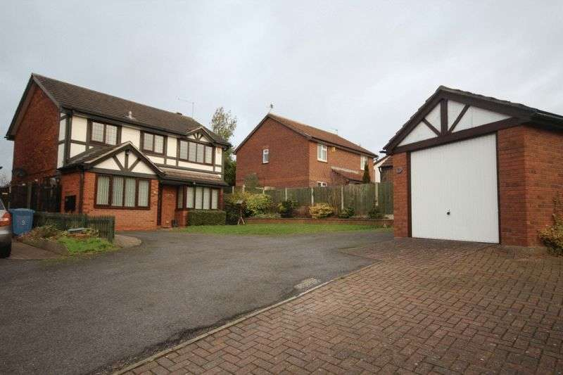 4 Bedrooms Detached House for sale in DELAMERE CLOSE, OAKWOOD