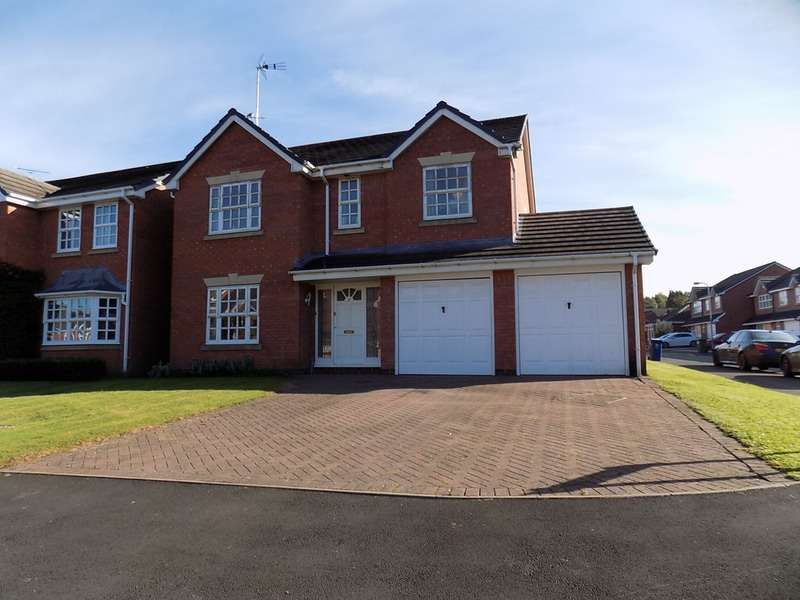 4 Bedrooms Detached House for sale in Croxley Drive, Cannock, Staffordshire, WS12