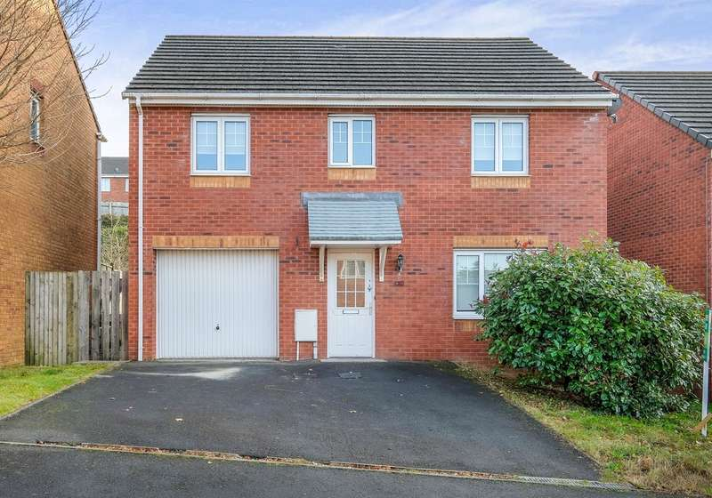 4 Bedrooms Detached House for sale in Edith Mills Close, Neath