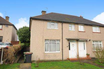 2 Bedrooms Semi Detached House for sale in Sayes Court Road, Orpington