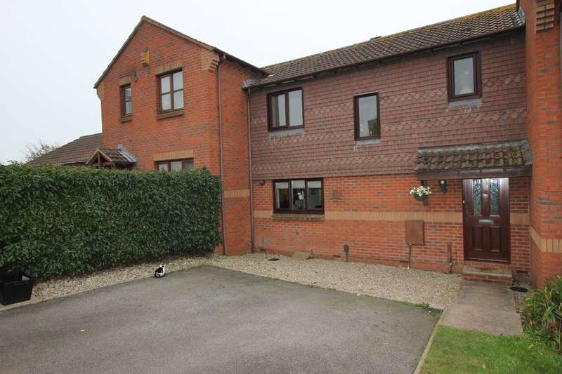 3 Bedrooms Terraced House for sale in Kerria Close, Paignton