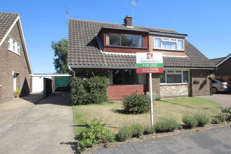 3 Bedrooms Bungalow for sale in Penryn Road, Kesgrave, Ipswich