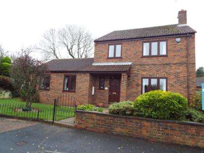 4 Bedrooms Detached House for sale in Melltowns Green, Pickhill, Thirsk
