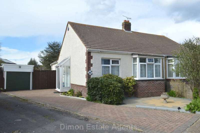 2 Bedrooms Semi Detached Bungalow for sale in Gorran Avenue, Gosport