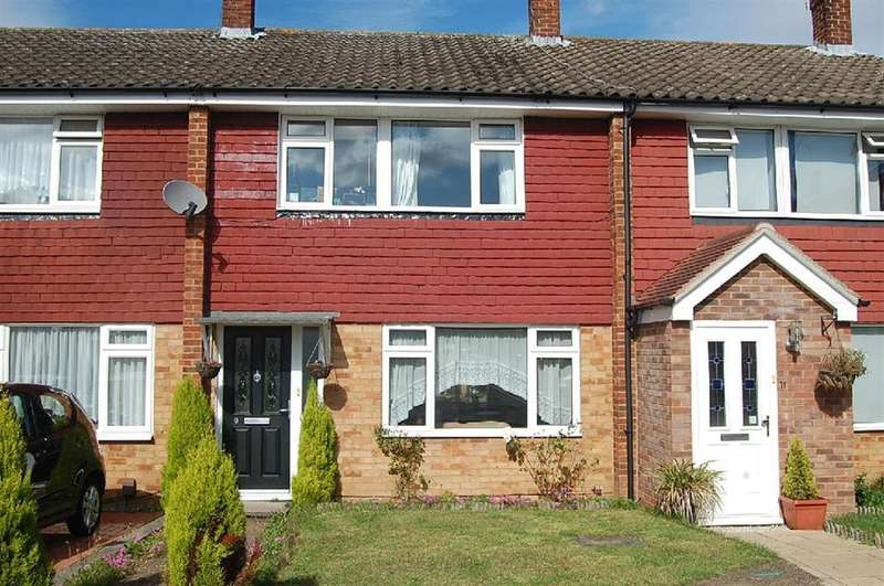 3 Bedrooms Terraced House for sale in Cranefield Drive, Watford, Herts
