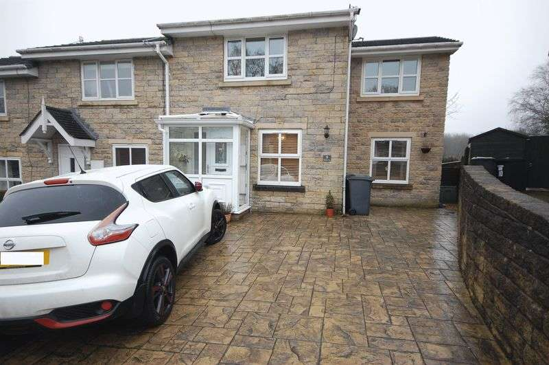 3 Bedrooms Terraced House for sale in Moorside Close, Glossop