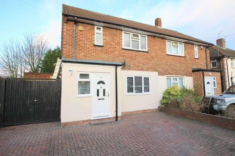 2 Bedrooms Semi Detached House for sale in Denton Road, Welling, DA16 1AY