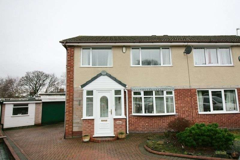3 Bedrooms Semi Detached House for sale in Birchfield Drive, Boothstown Worsley Manchester