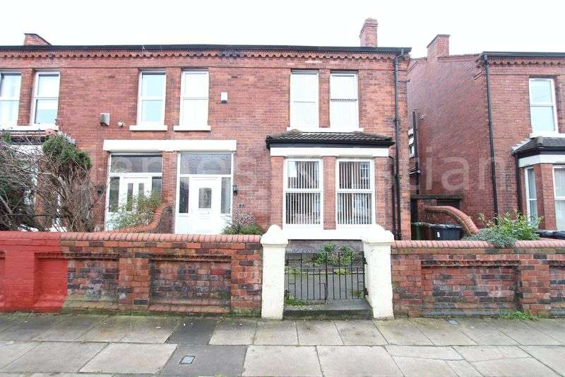4 Bedrooms Semi Detached House for sale in Mount Avenue, Liverpool