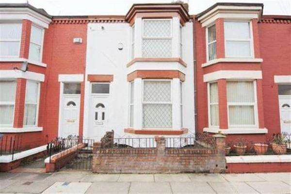 3 Bedrooms Terraced House for sale in Cranbourne Road, Wavertree, Liverpool
